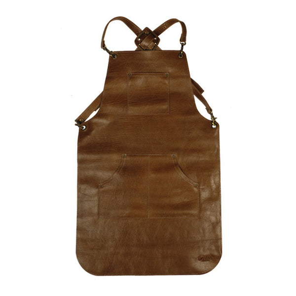 Apron Leather Light Brown