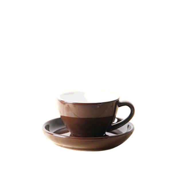 80ml Yami Espresso Porcelain Cup - Brown