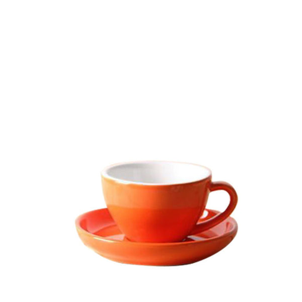 80ml Yami Espresso Porcelain Cup - Orange