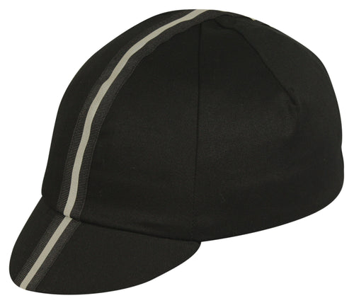 Traditional Cap Reflective - Black Ribbon