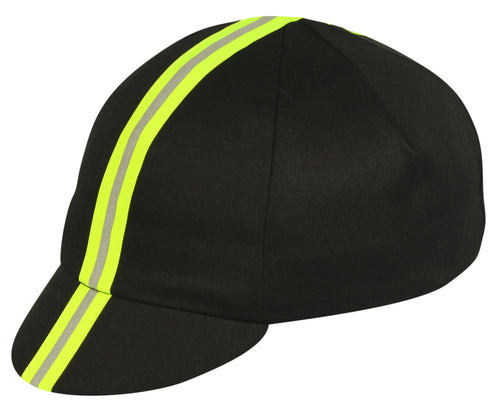 Traditional Cap Reflective - Neon Yellow Ribbon