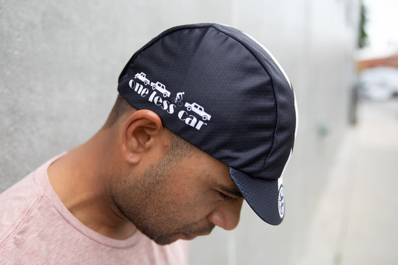 One Less Car Hex-Tek Cycling Cap