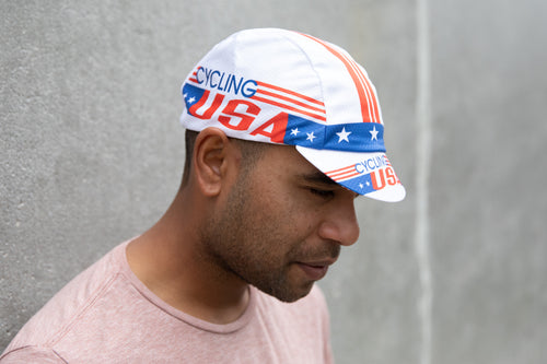 Cycling USA Hex-Tek Cycling Cap