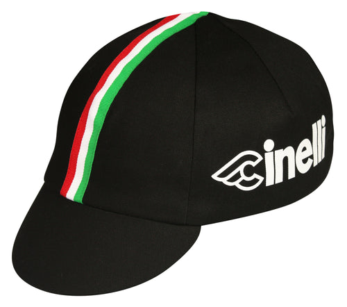 Cinelli Traditional Cycling Cap - Black