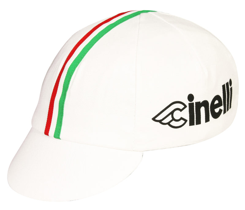 Cinelli Traditional Cycling Cap - White