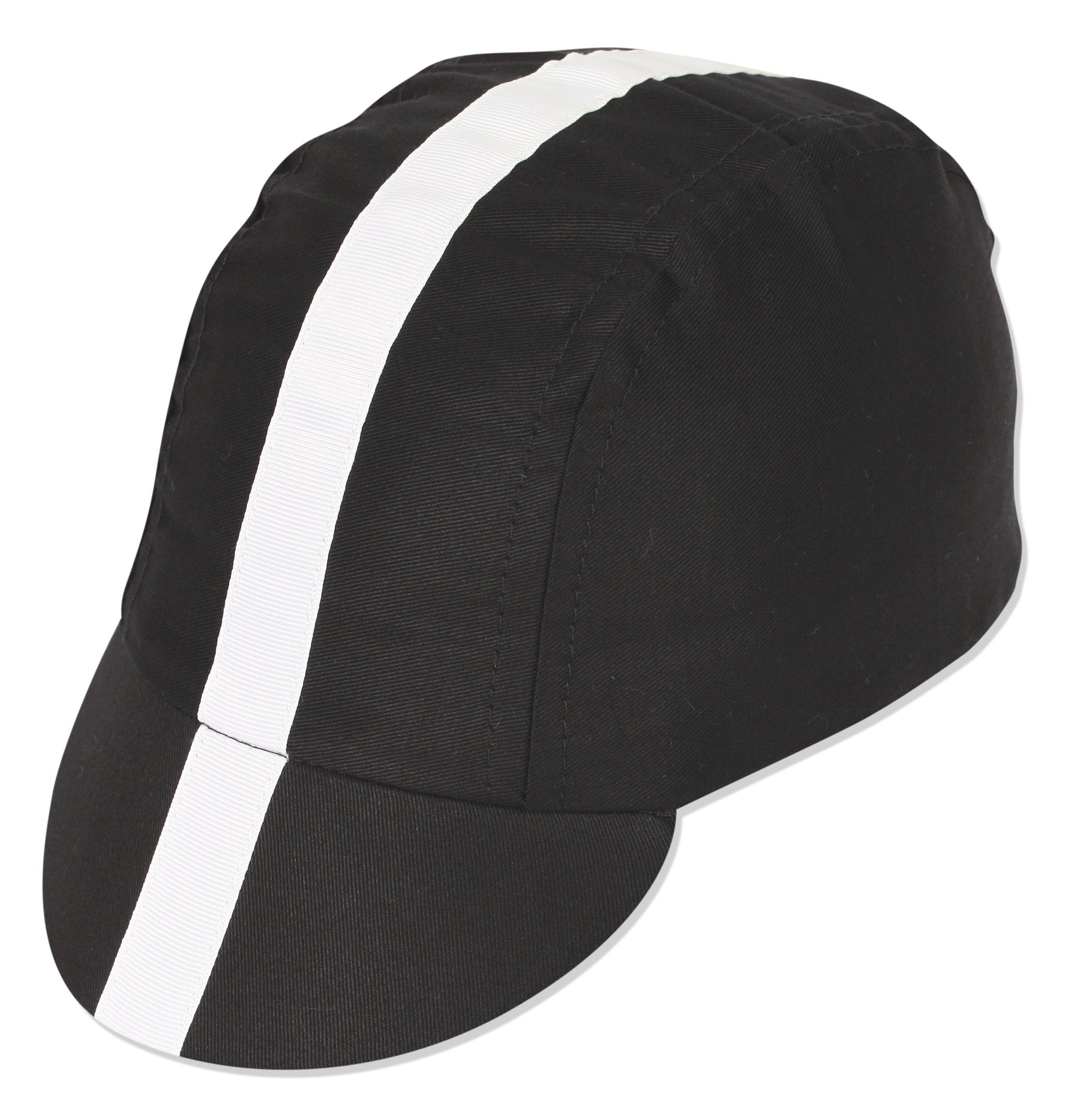 Classic Cycling Cap - Blk Wht – pacesportswear 01cee9745