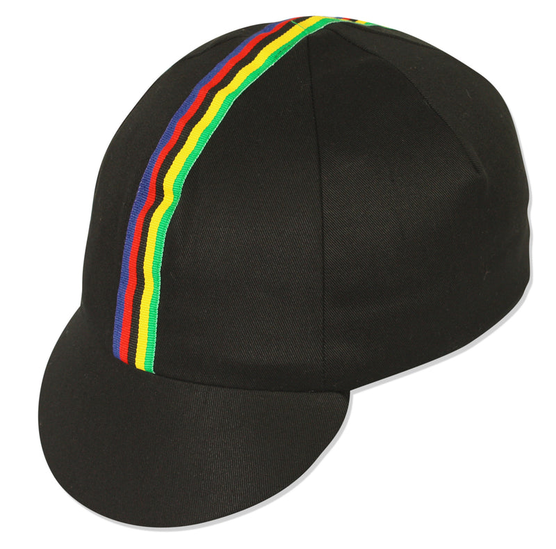 Traditional Cycling Cap WC - Black