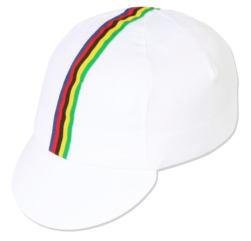 Traditional Cycling Cap WC - White