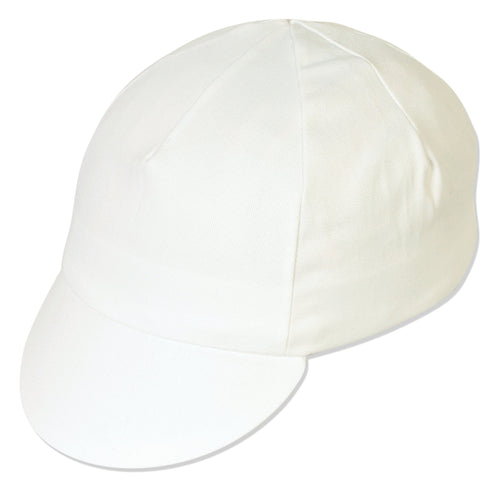 Traditional Cycling Cap - White