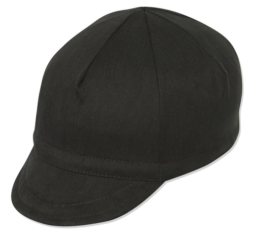 Euro Soft Bill Cycling Cap - Black