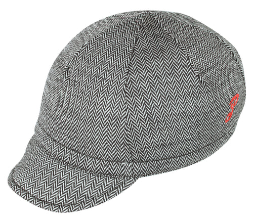 Wool Euro Cap Mini Herringbone
