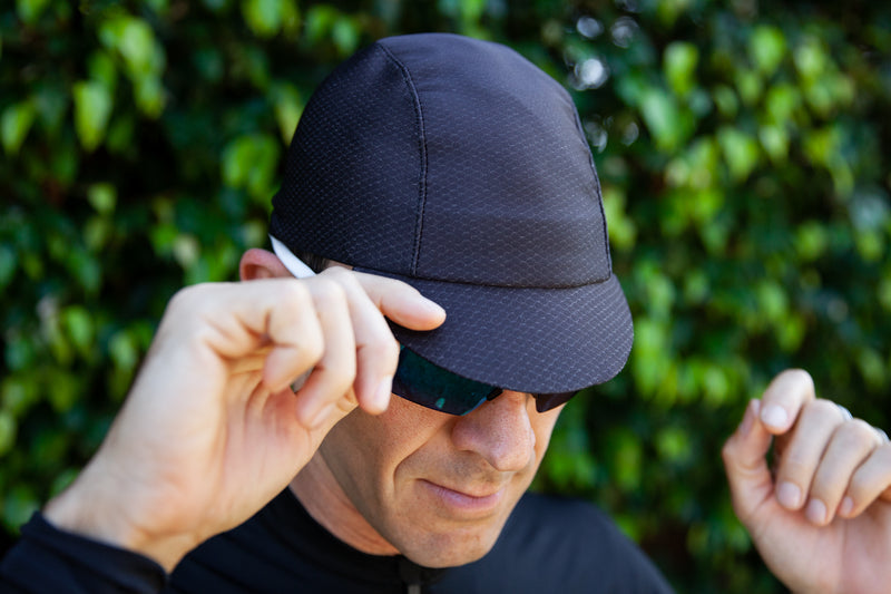 Hex-Tek Cycling Cap - Black