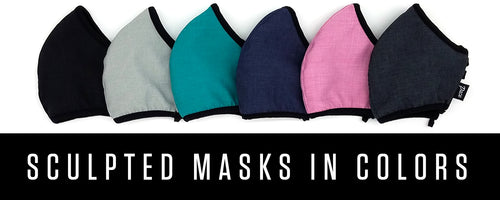 Pace Sculpted Facemasks NEW Colors!