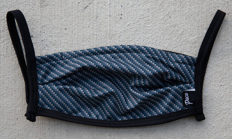 Pace Facemask with Pouch Carbon Fiber