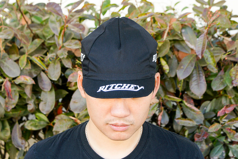Ritchey Euro Black Cycling Cap