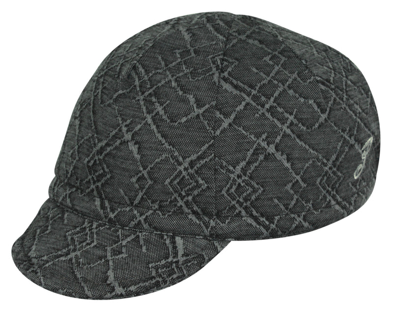Wool Euro Cycling Cap - Diamond