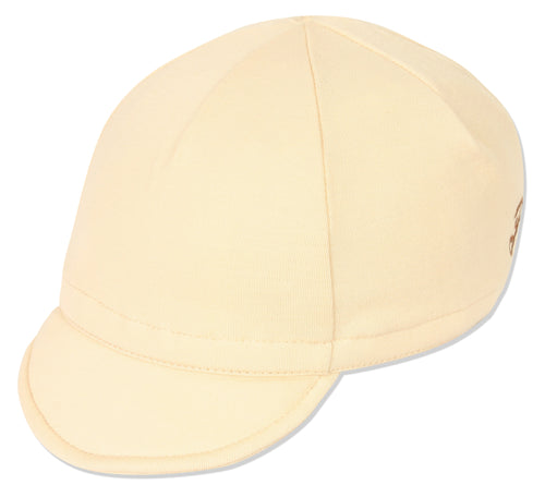 Wool Euro Cycling Cap - Eggshell