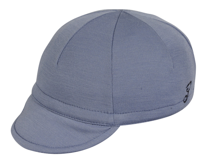 Wool Euro Cycling Cap - Slate