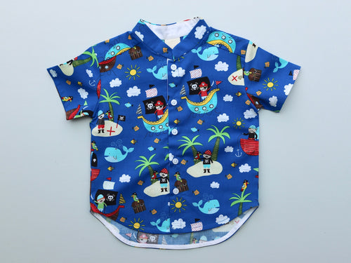Luke Boys' Shirt Playful Pirates