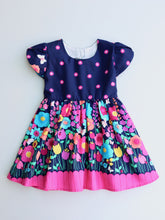 Open Heart Dress Midnight Garden