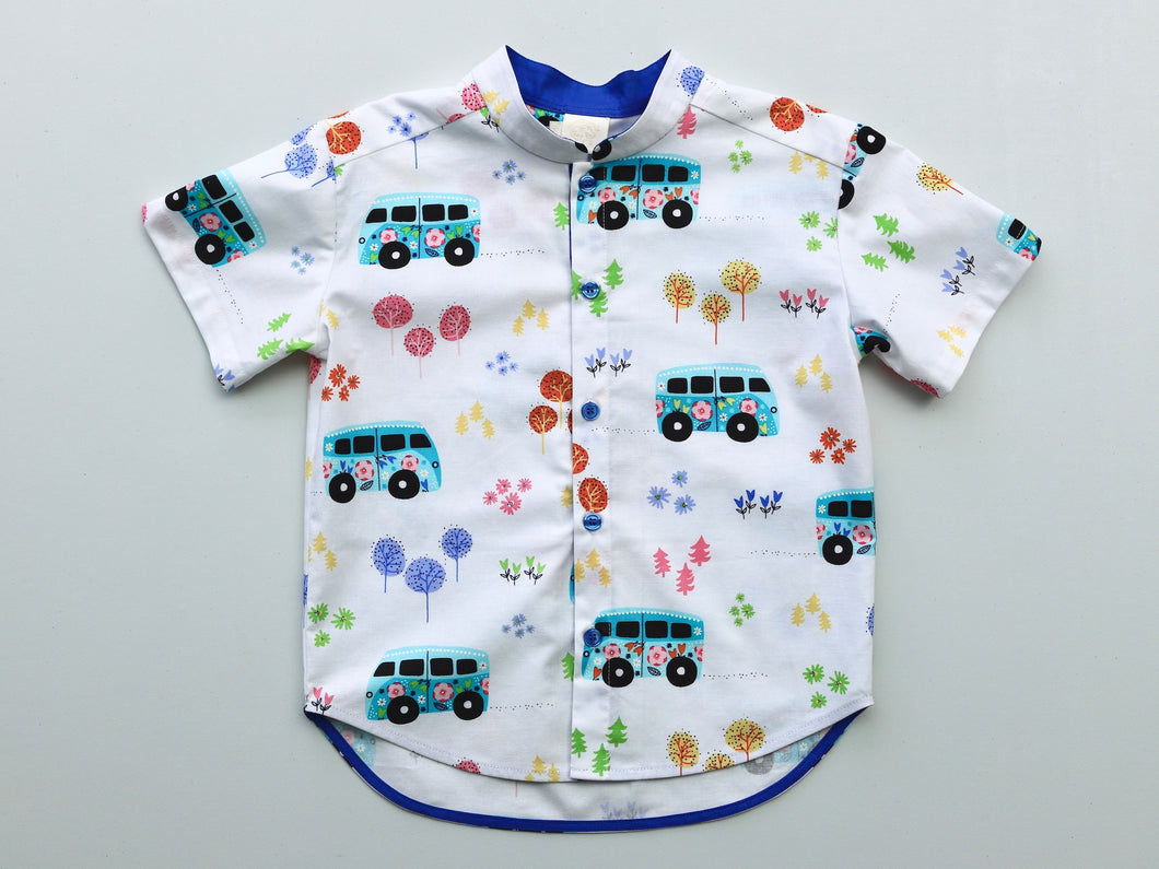 Luke Boys' Shirt Merry Caravan