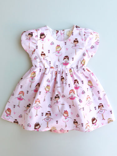 Colette Romper Dress Ballerina