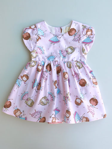 Colette Romper Dress Princess Sparkle