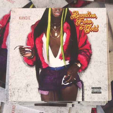 Bundles, Furs, & Gold album (hard copy)