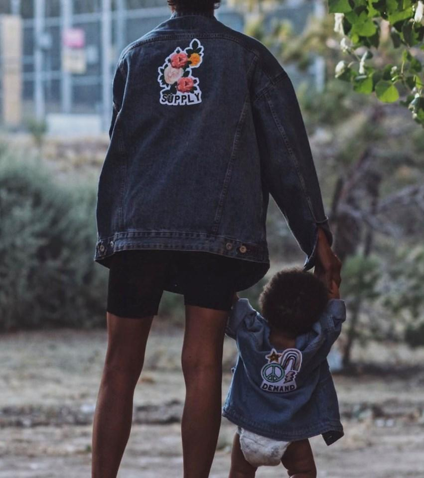 Mommy and Me Jacket Set