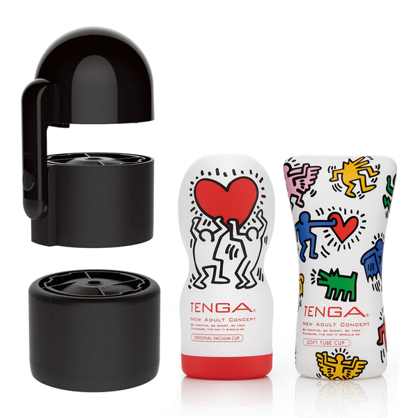 55% off The TENGA Vacuum Controller x Keith Haring Bundle