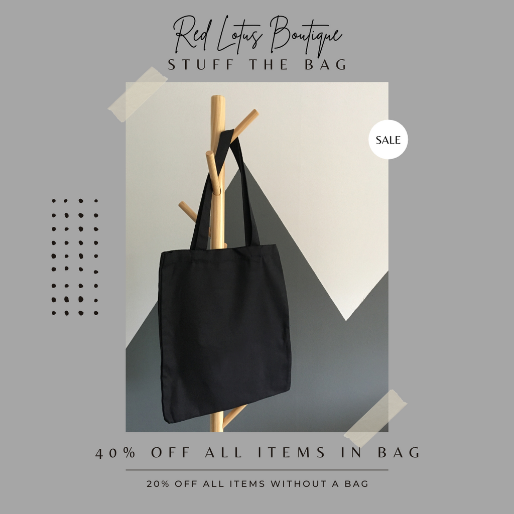 Stuff the Bag SALE - January 10th from 11-2 pm