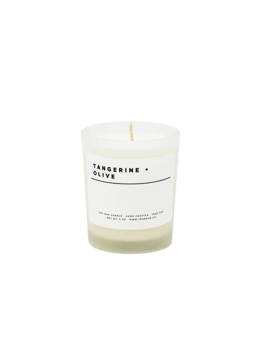 Tangerine + Olive Mini Soy Wax candle