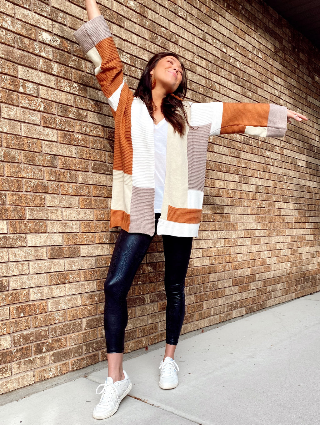 Mojave Color Block Cardigan