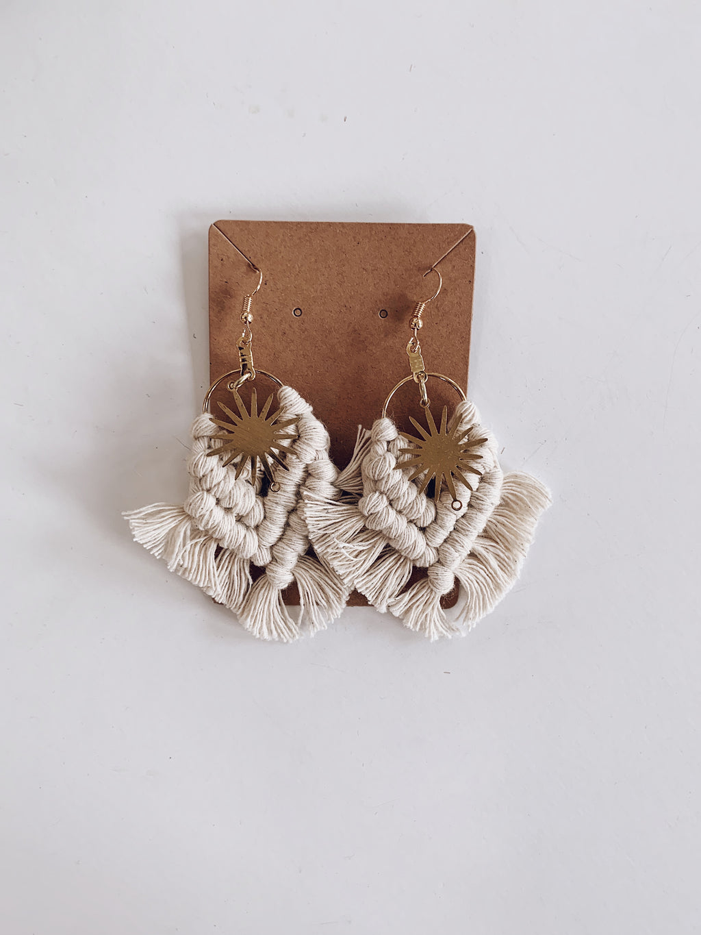 Sun Fringe Earrings