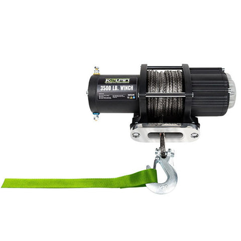 Kolpin 3500 Lb Synthetic Rope Winch