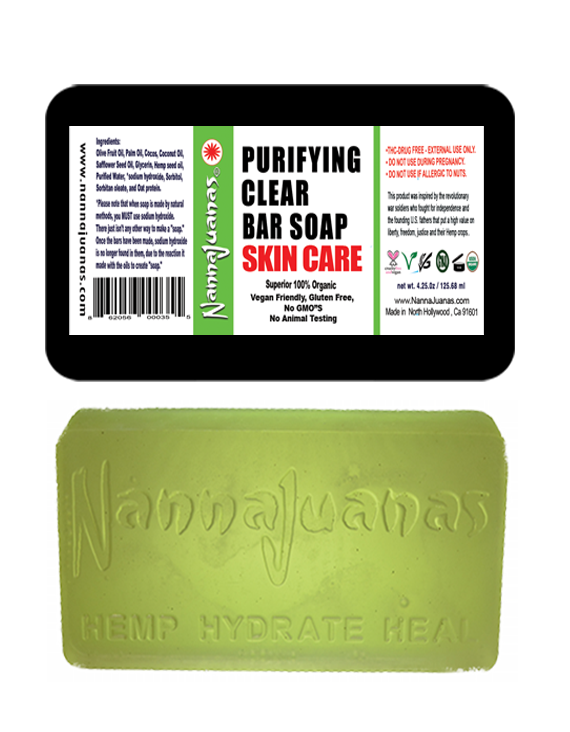 PURIFYING CLEAR BAR SOAP - NannaJuanas