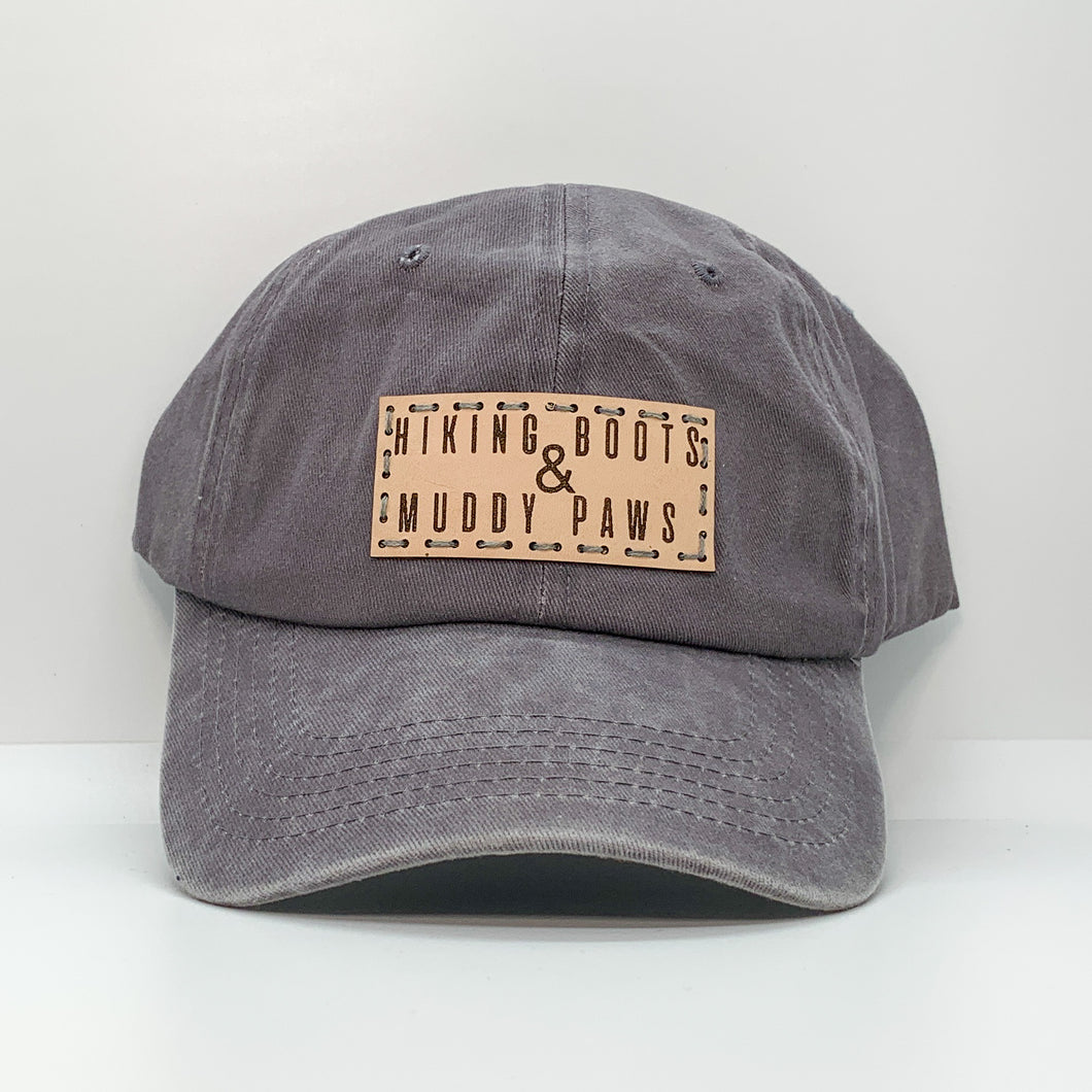SALE - Hiking Boots And Muddy Paws Dad Hat