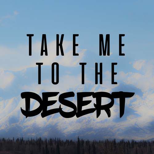 Take Me To The Desert Decal Sticker