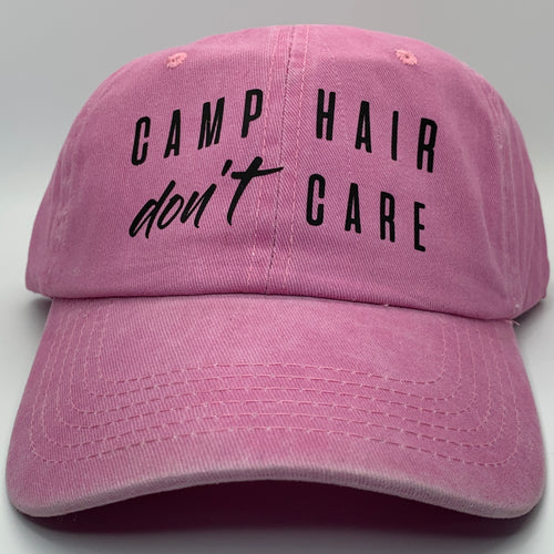Camp Hair Don't Care Dad Hat