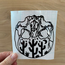 Desert Skull Decal Sticker