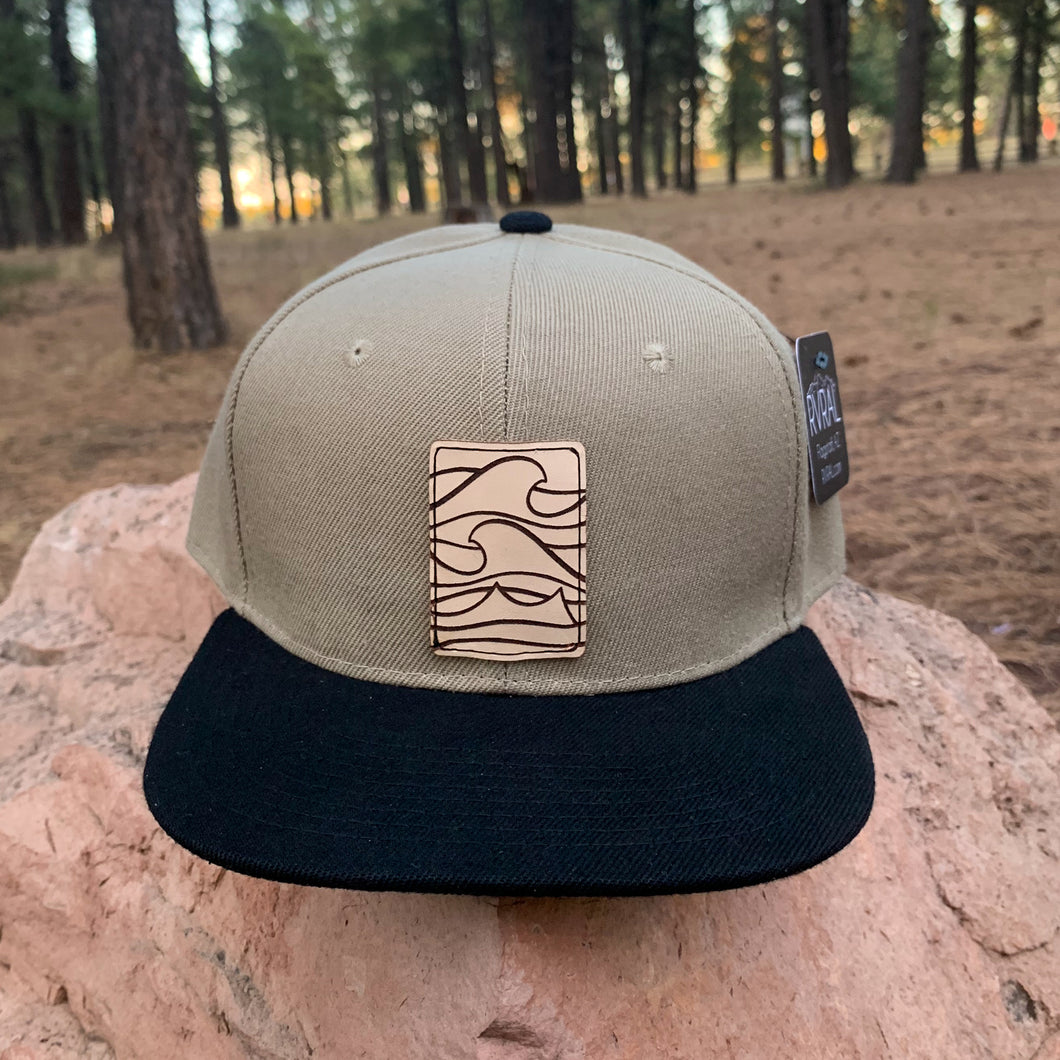 Adult Snapback Hat | Waves