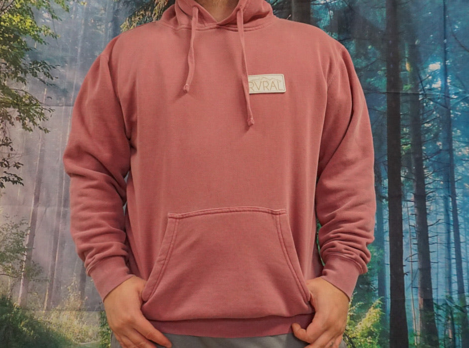 Blush Pigment Dyed Hoodie - PRE ORDER