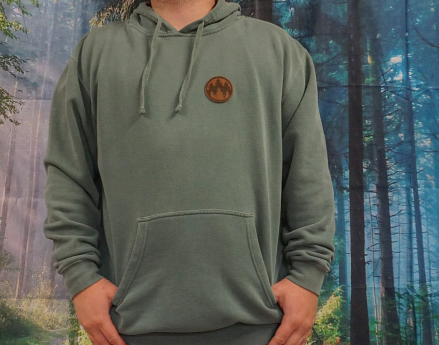 Alpine Green Pigment Dyed Hoodie - PRE ORDER
