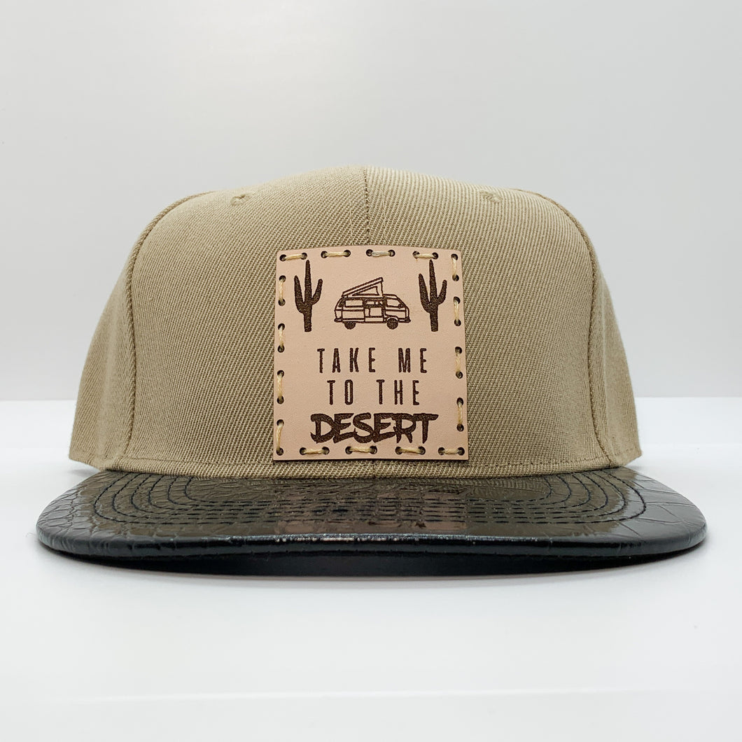 SALE - Take Me To The Desert Snapback Hat