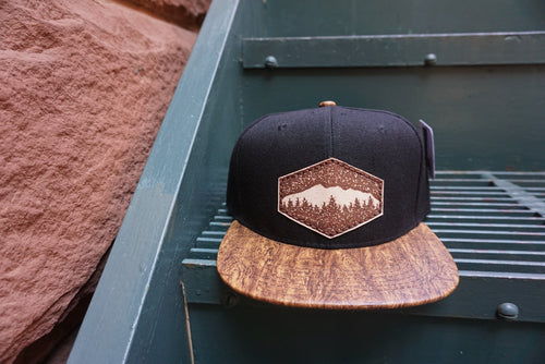 Mountain Adult Snapback Hat