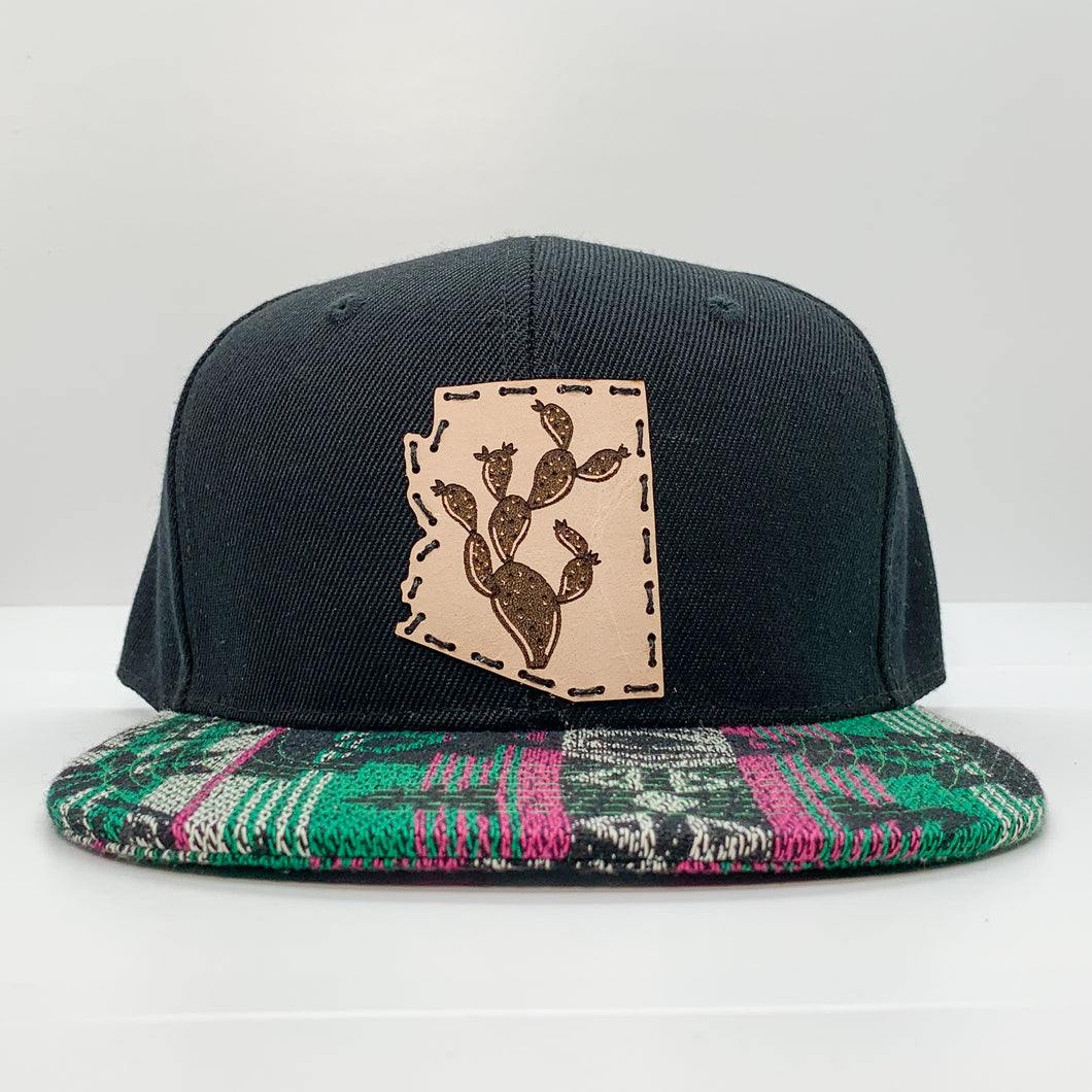 SALE - Cactus Arizona Snapback Hat