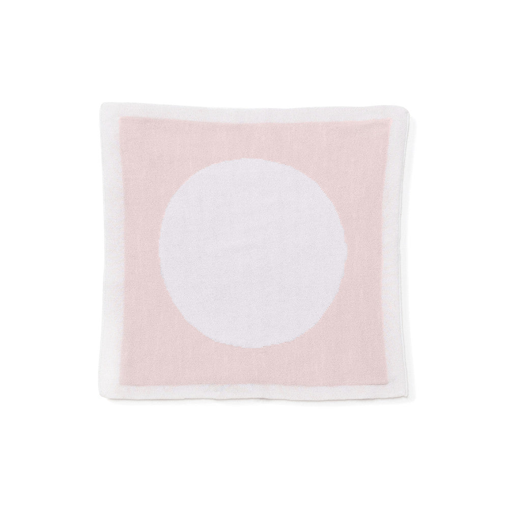 Circle Reversible Security / Doll Blanket - Pink