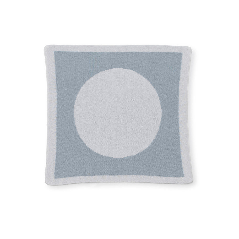 Circle Reversible Security / Doll Blanket - Blue