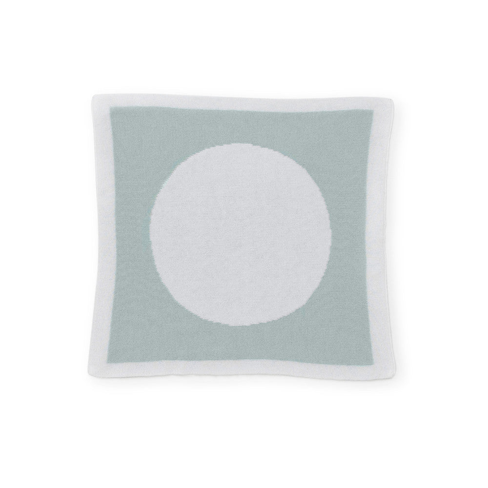 Circle Reversible Security / Doll Blanket - Mint