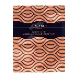 Diana Gen Black Royal Fish Immortal Illuminating Intensive Mask (1 Sheet)